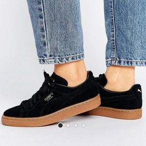 Suede classic puma Sneakers with gum sole
